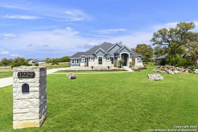 1229 Paladin Trail, Spring Branch, TX 78070 (MLS #1450463) :: Carolina Garcia Real Estate Group