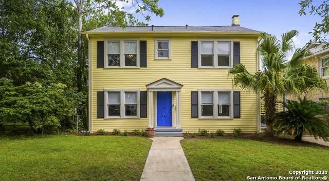 223 E Lullwood Ave, San Antonio, TX 78212 (MLS #1451419) :: Exquisite Properties, LLC