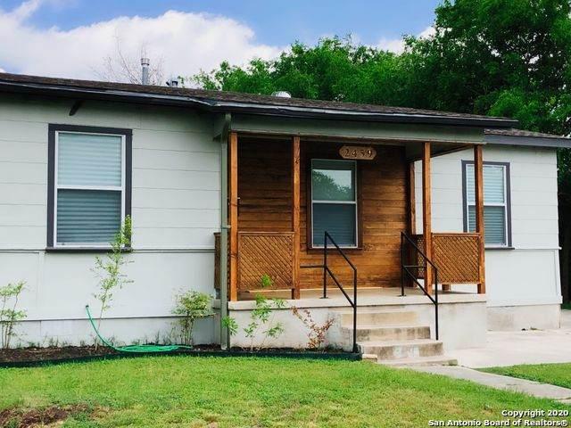 2459 Texas Ave, San Antonio, TX 78228 (MLS #1454062) :: The Heyl Group at Keller Williams