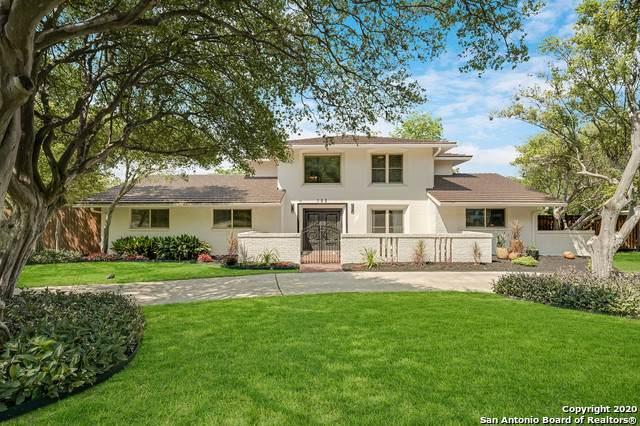 103 Squires Row, Castle Hills, TX 78213 (MLS #1456086) :: Santos and Sandberg