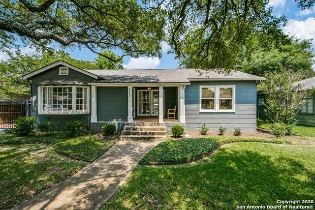 215 Brightwood Pl, San Antonio, TX 78209 (MLS #1456696) :: BHGRE HomeCity San Antonio