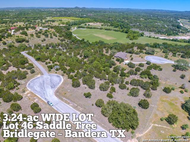 LOT 46 Saddle Tree, Bandera, TX 78003 (MLS #1457647) :: Neal & Neal Team