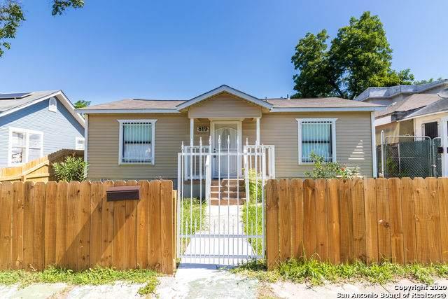 819 Topeka Blvd, San Antonio, TX 78210 (MLS #1458078) :: Exquisite Properties, LLC
