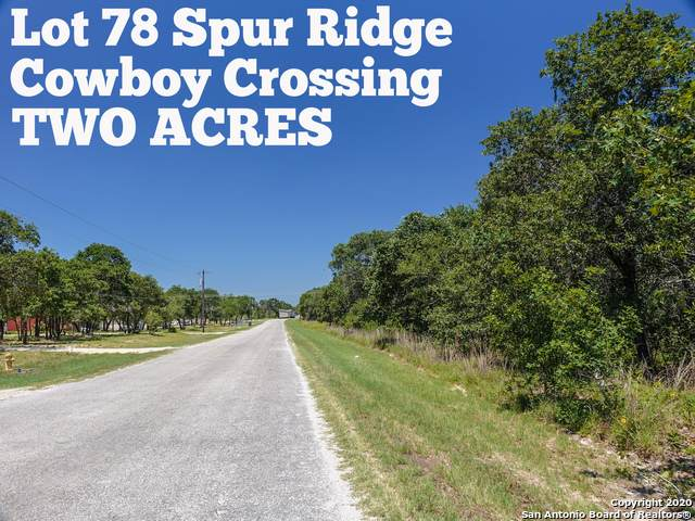 LOT 78 Spur Ridge, San Antonio, TX 78264 (MLS #1459215) :: Neal & Neal Team