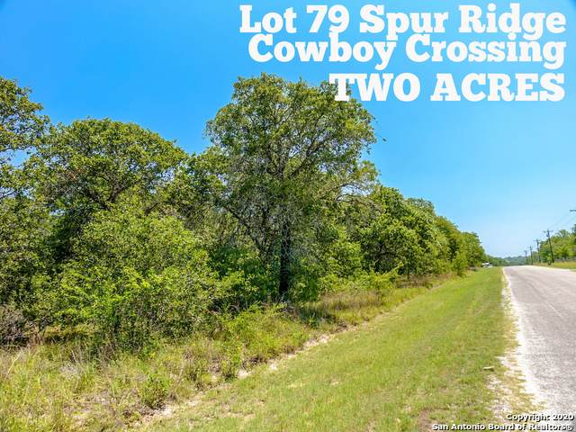 LOT 79 Spur Ridge, San Antonio, TX 78264 (MLS #1459221) :: Neal & Neal Team
