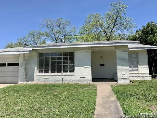 339 Addax Dr, San Antonio, TX 78213 (MLS #1459299) :: The Gradiz Group