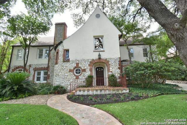 226 Park Hill Dr, Olmos Park, TX 78212 (MLS #1461388) :: The Heyl Group at Keller Williams