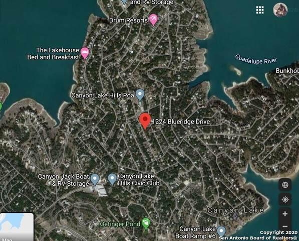 1224 Blueridge Dr, Canyon Lake, TX 78133 (MLS #1462124) :: Exquisite Properties, LLC