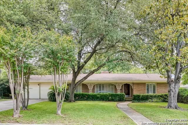 547 Woodcrest Dr., San Antonio, TX 78209 (MLS #1462212) :: Exquisite Properties, LLC