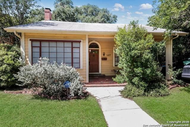 1607 W Huisache Ave, San Antonio, TX 78201 (MLS #1465075) :: NewHomePrograms.com LLC