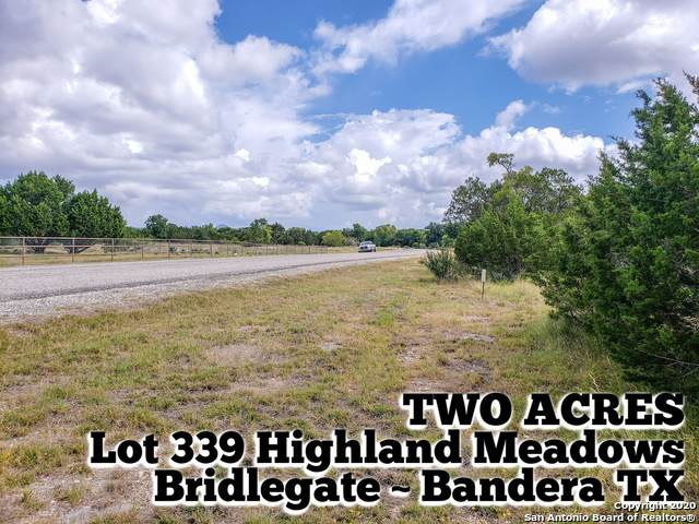 LOT 339 Highland Meadows, Bandera, TX 78003 (MLS #1465145) :: BHGRE HomeCity San Antonio