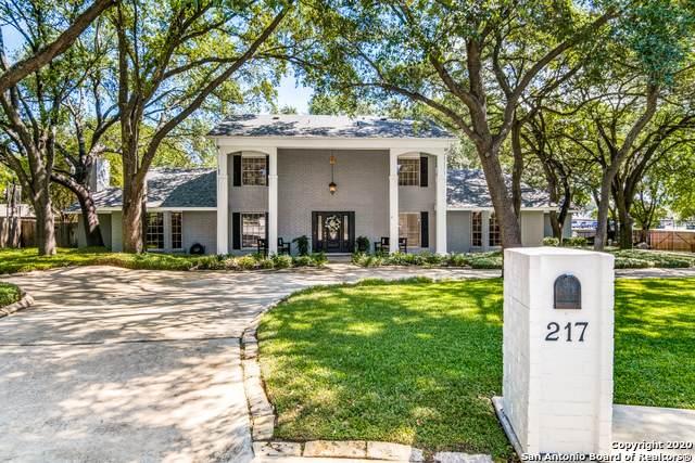 217 Sheffield, Castle Hills, TX 78213 (MLS #1466354) :: Berkshire Hathaway HomeServices Don Johnson, REALTORS®