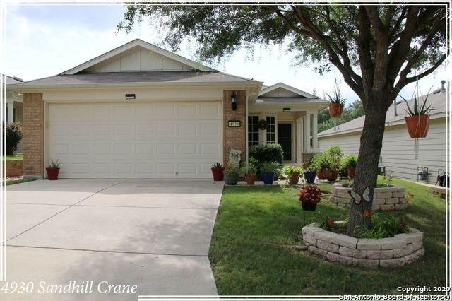 4930 Sandhill Crane, San Antonio, TX 78253 (MLS #1467020) :: Alexis Weigand Real Estate Group