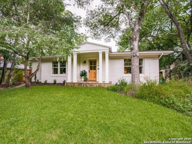 140 Schreiner Place, San Antonio, TX 78212 (MLS #1467306) :: Reyes Signature Properties