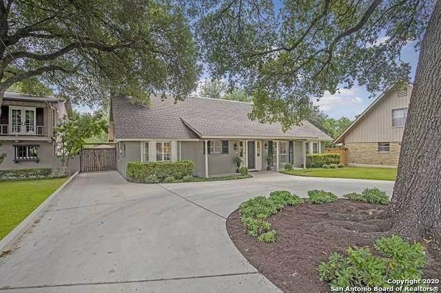 7780 Woodridge Dr, San Antonio, TX 78209 (MLS #1469162) :: Alexis Weigand Real Estate Group