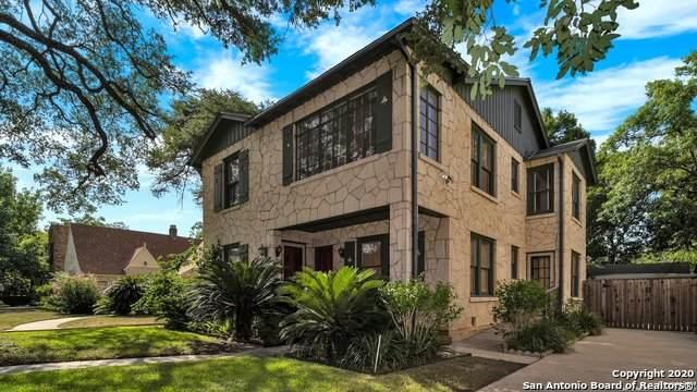 217 E Rosewood Ave, San Antonio, TX 78212 (MLS #1469573) :: The Gradiz Group