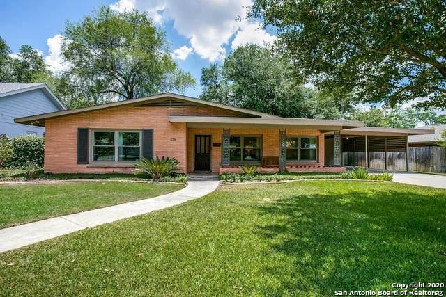 226 Tophill Rd, San Antonio, TX 78209 (MLS #1472233) :: Concierge Realty of SA
