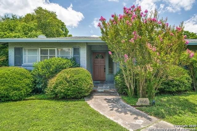 606 Wyndale, San Antonio, TX 78209 (MLS #1472433) :: Alexis Weigand Real Estate Group