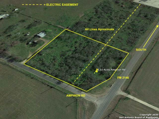 2.3 AC Amphion Rd, Poteet, TX 78065 (MLS #1473103) :: 2Halls Property Team | Berkshire Hathaway HomeServices PenFed Realty