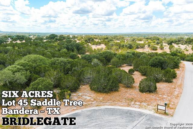 LOT 45 Saddle Tree, Bandera, TX 78003 (MLS #1473237) :: 2Halls Property Team | Berkshire Hathaway HomeServices PenFed Realty
