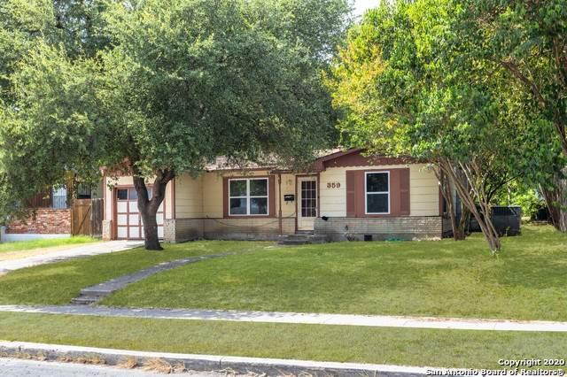 359 Eland Dr, San Antonio, TX 78213 (MLS #1473240) :: Alexis Weigand Real Estate Group