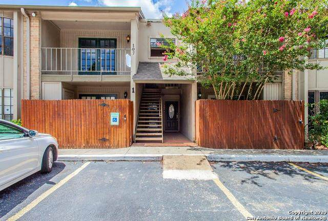 7711 Callaghan Rd #107, San Antonio, TX 78229 (MLS #1473686) :: The Castillo Group