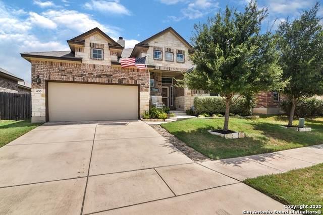 653 Bison Ln, Cibolo, TX 78108 (MLS #1475916) :: Vivid Realty
