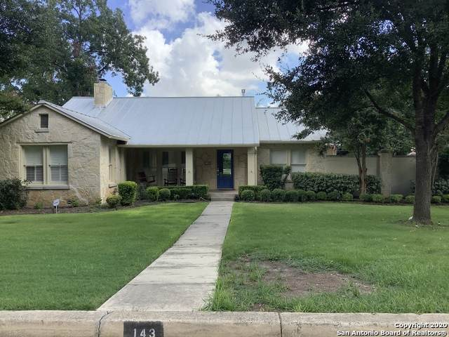 143 Paloma Dr, San Antonio, TX 78212 (MLS #1475961) :: Alexis Weigand Real Estate Group