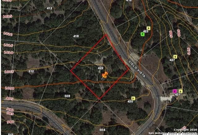 422 Cielo Vista, Canyon Lake, TX 78133 (#1476290) :: 10X Agent Real Estate Team