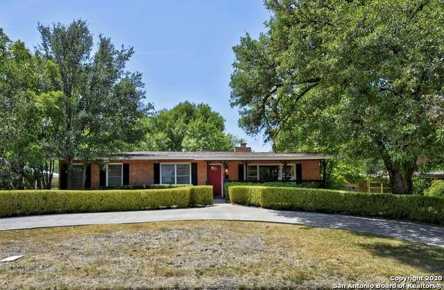 508 S Vandiver Rd, Terrell Hills, TX 78209 (MLS #1477163) :: The Heyl Group at Keller Williams