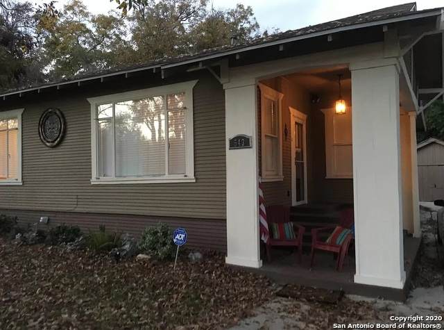 543 E Huisache Ave, San Antonio, TX 78212 (MLS #1478223) :: Concierge Realty of SA