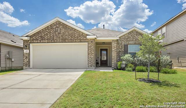 419 Agave Flats Dr, New Braunfels, TX 78130 (MLS #1478450) :: The Mullen Group | RE/MAX Access