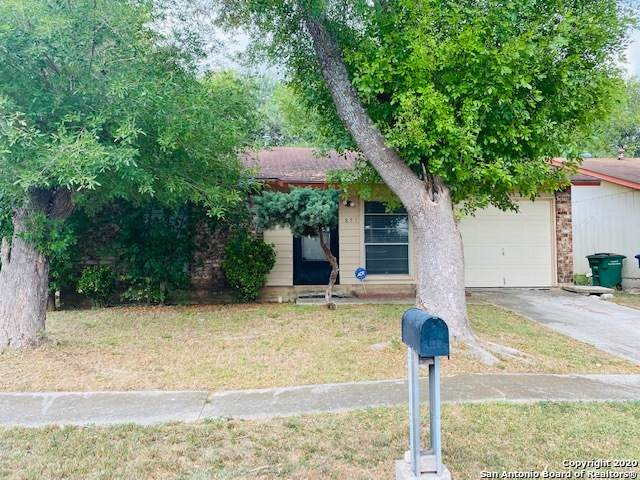 851 Westleaf St, San Antonio, TX 78227 (MLS #1481229) :: The Lugo Group