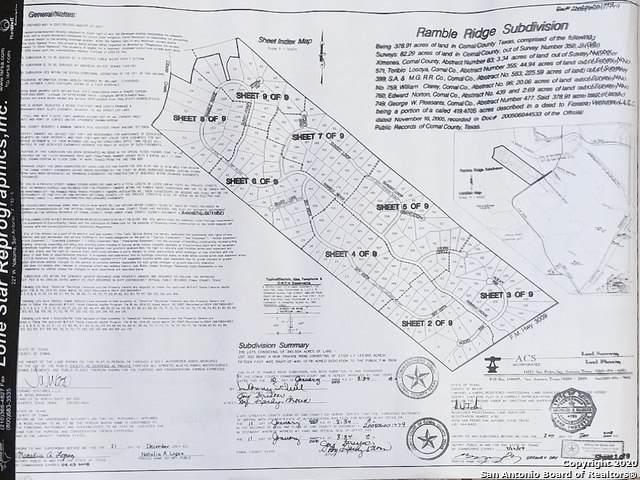 LOT 87 Ramble Ridge, San Antonio, TX 78266 (MLS #1481752) :: The Lugo Group
