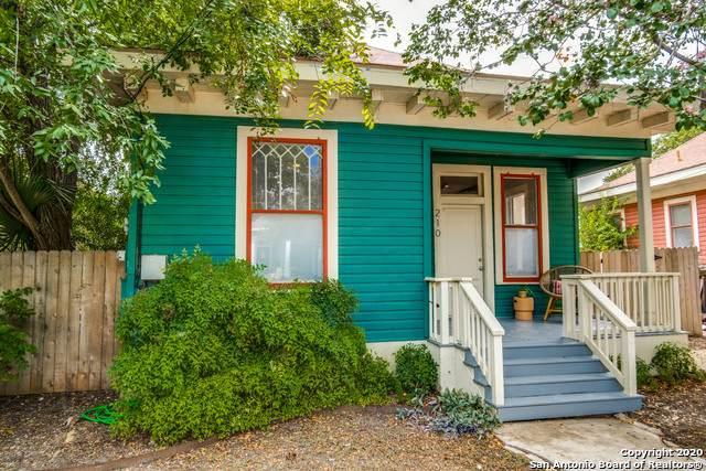 210 Sadie St, San Antonio, TX 78210 (MLS #1482369) :: The Castillo Group