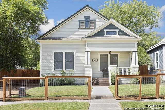 815 Dawson St, San Antonio, TX 78202 (MLS #1482424) :: The Castillo Group