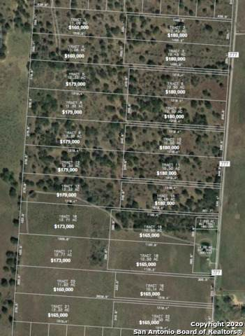 LOT 22 10.50 AC County Road 777, Devine, TX 78016 (#1482576) :: The Perry Henderson Group at Berkshire Hathaway Texas Realty