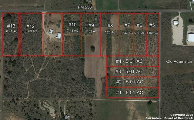 TBD - TRACT 3 Old Adams Ln, Pleasanton, TX 78064 (MLS #1483715) :: The Rise Property Group