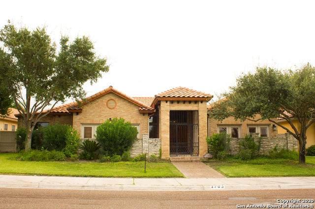 2703 Burke Dr, Laredo, TX 78045 (MLS #1484366) :: Santos and Sandberg