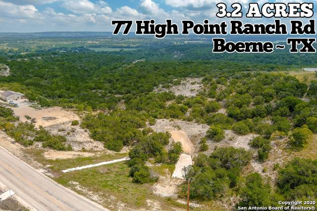 77 High Point Ranch Rd, Boerne, TX 78006 (MLS #1485045) :: Tom White Group