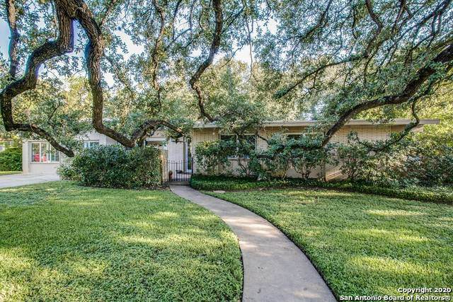 411 Rockhill Dr, San Antonio, TX 78209 (MLS #1486100) :: Alexis Weigand Real Estate Group
