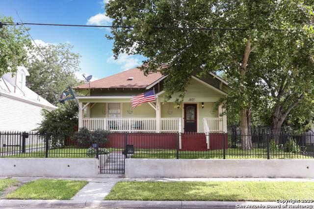 1203 E Crockett St, San Antonio, TX 78202 (MLS #1486269) :: Santos and Sandberg