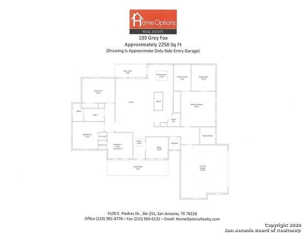 103 Grey Fox, San Antonio, TX 78065 (MLS #1486935) :: The Lugo Group