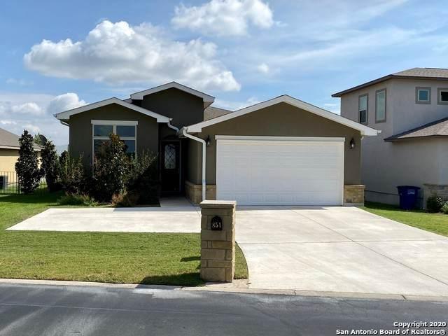 851 Long Creek Blvd, New Braunfels, TX 78130 (MLS #1488496) :: The Lugo Group