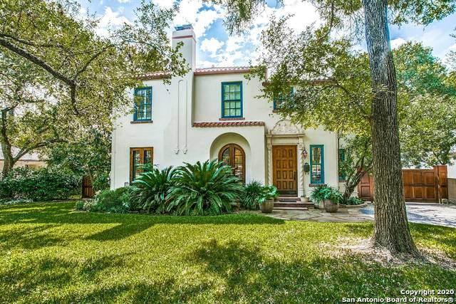 108 Cardinal Ave, Alamo Heights, TX 78209 (MLS #1489248) :: BHGRE HomeCity San Antonio