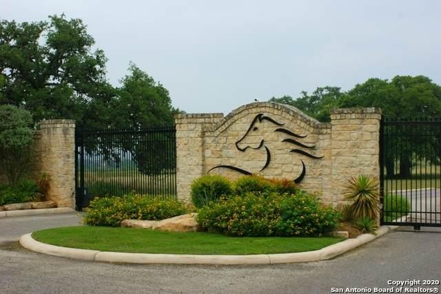 LOT 124 Palomino Spgs, Bandera, TX 78003 (MLS #1490250) :: Front Real Estate Co.