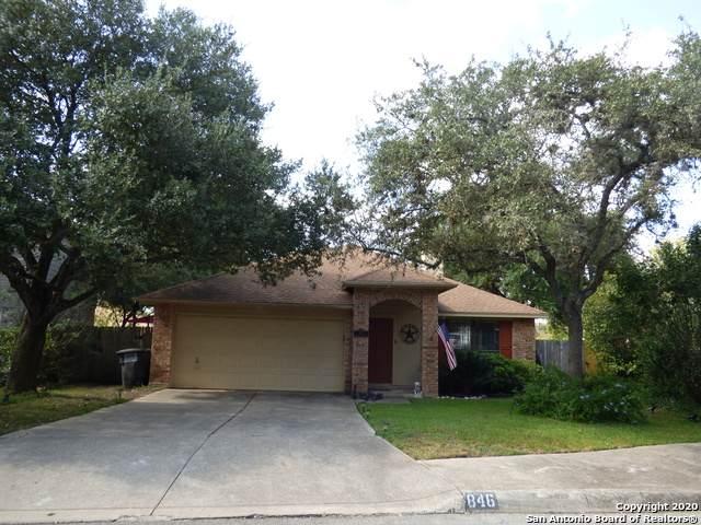 846 Amberstone Dr, San Antonio, TX 78258 (MLS #1490316) :: Real Estate by Design