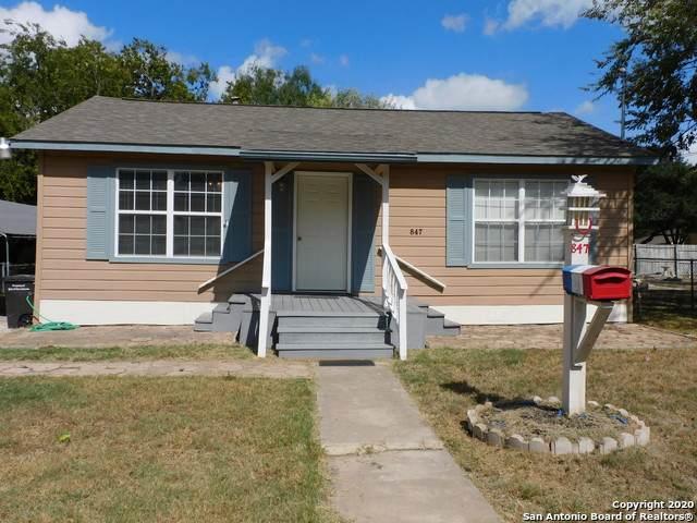 847 San Angelo, San Antonio, TX 78201 (MLS #1491073) :: The Lugo Group
