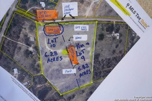 108 (6.28 ACRE) Dodgen Ln, La Vernia, TX 78121 (MLS #1491332) :: Santos and Sandberg