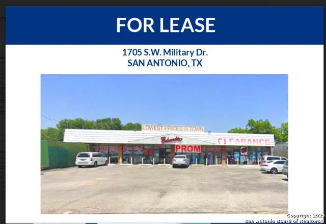 1705 Sw Military Dr, San Antonio, TX 78221 (MLS #1491367) :: The Lugo Group